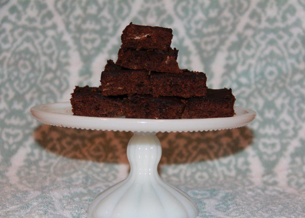 Flourless Carob Brownies
