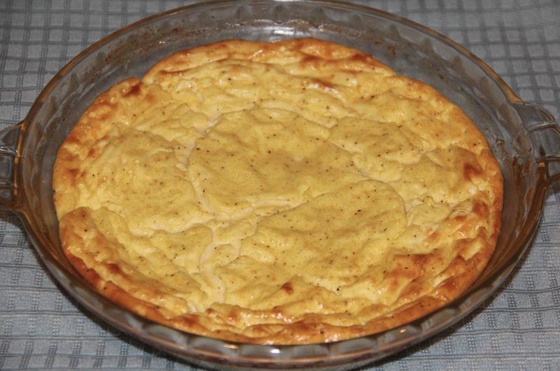 Flourless Goat Cheese Quiche