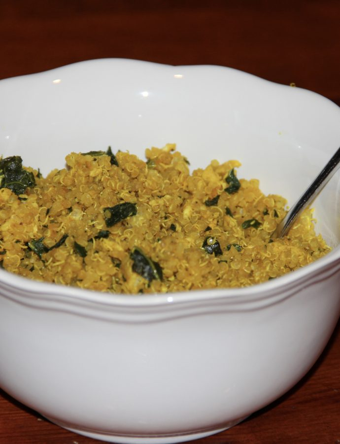Turmeric Quinoa