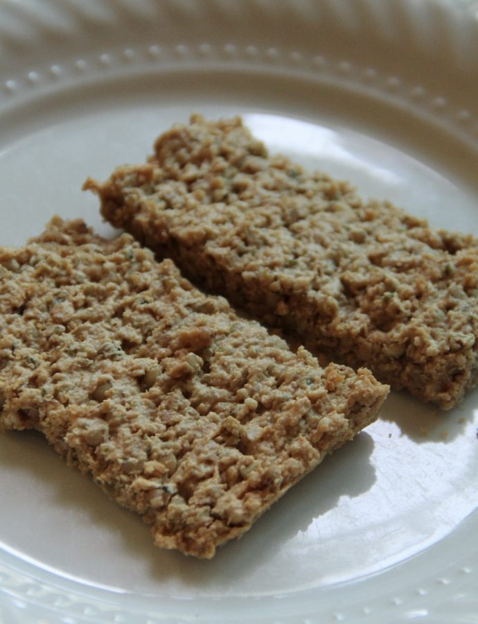 Peanut Butter Buckwheat Granola Bars