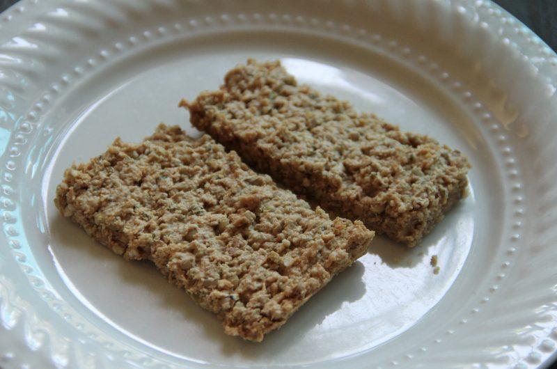 Peanut Butter Buckwheat Granola Bars