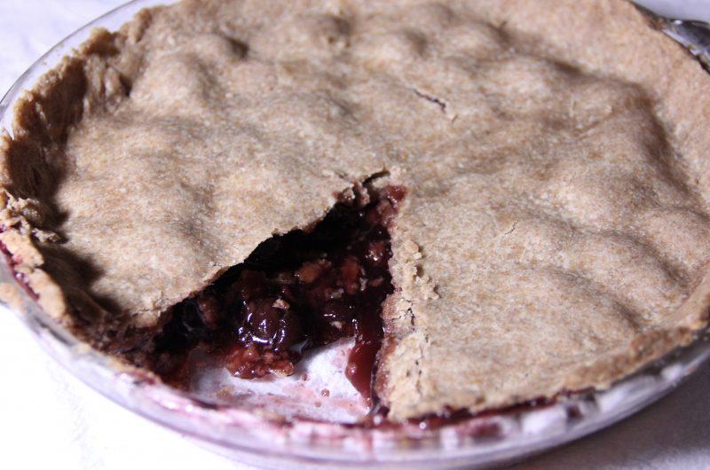 4 Ingredient Cherry Pie