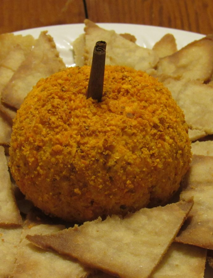 """Pumpkin"" Cheese Ball"